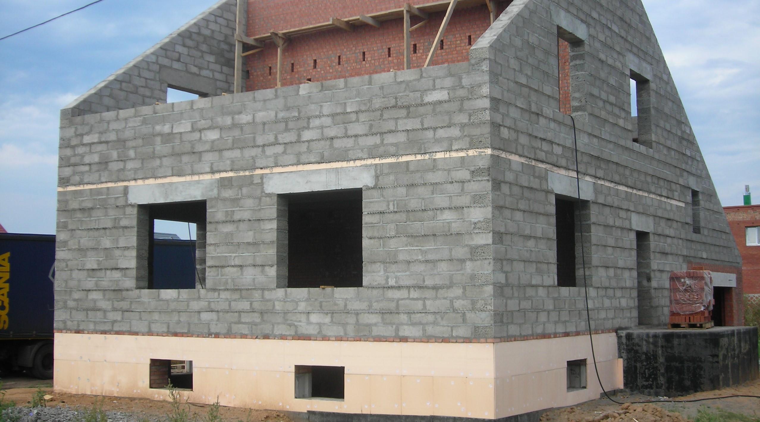 Кладка блока из керамзитобетона цена купить бетон в тобольске