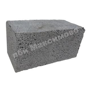 Керамзитобетон блок 390х188х190мм полнотелый фбс продаж бетон